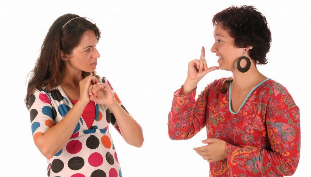 lingua-gestual